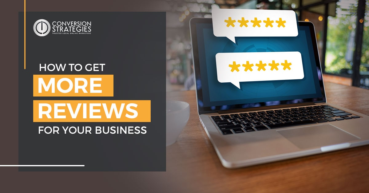 Ask for reviews - how to get more reviews for your business