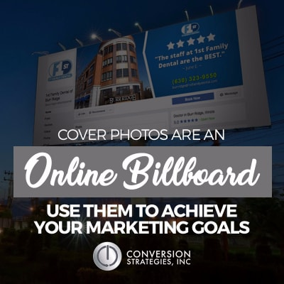 create the best facebook covers for business - Conversion Strategies, Inc - Chicago, IL