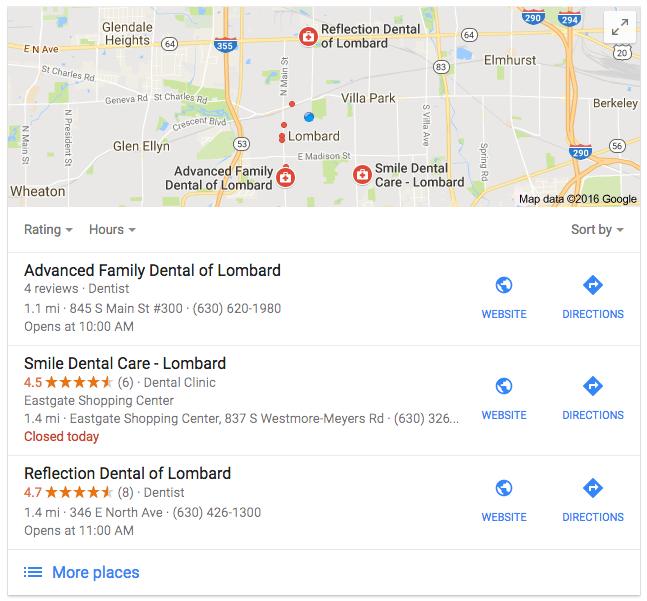 dental office marketing plan - Chicago, IL