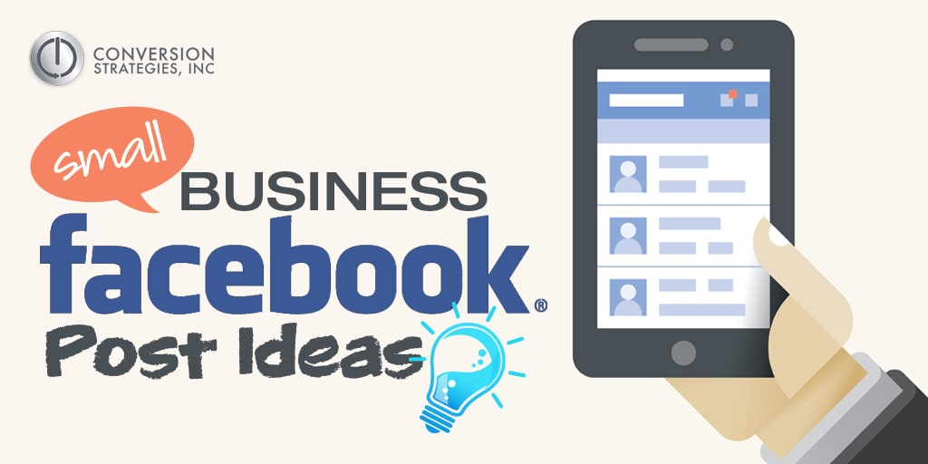small business facebook post ideas