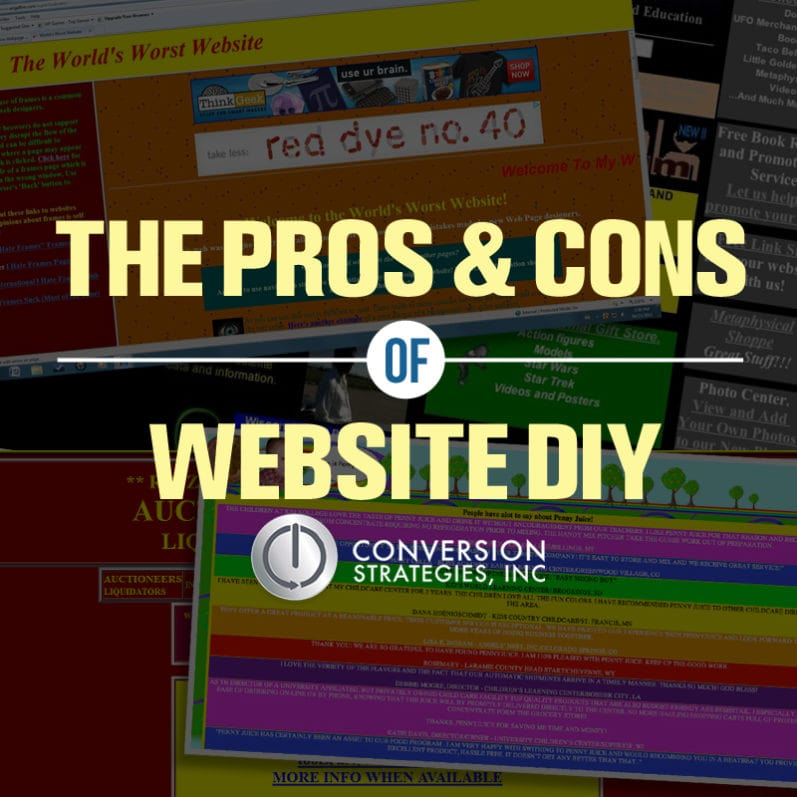 website builder vs web designer - pros and cons