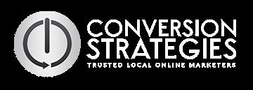 Conversion Strategies - white logo - Illinois SEO