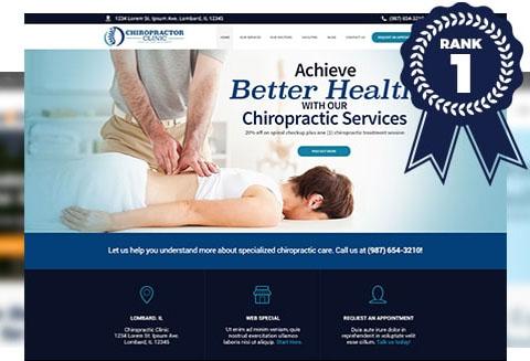 Chiropractor website design & local SEO Chicago - Conversion Strategies